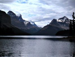 Maligne Lake by Child-of-Minerva