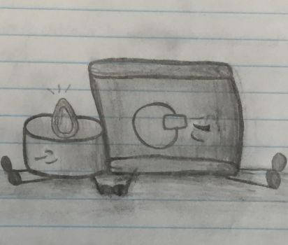 Washing machine and electric candle by P3W-PR1NC3