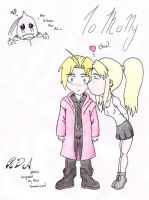 Ed and Winry for MQ by AccursedSavior