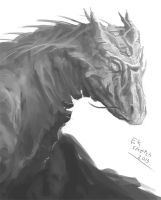 Dragon Sketch 2013 by eeliskyttanen