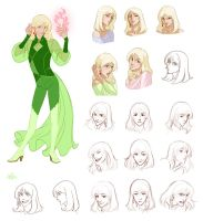 Estel: search of a type by Yulcha
