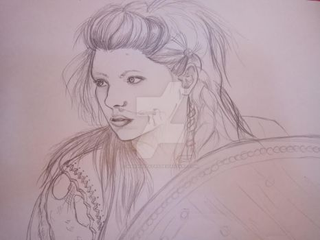 Lagertha | Quick sketch by MarinaPlazaG