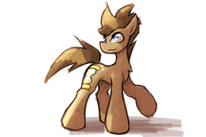 [SpeedArt] Doctor Whooves by QueenBloodySky