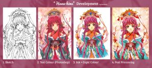 Hana-hime development by kuridoki