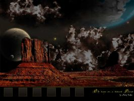 Distant Planet Wallpaper by QieT