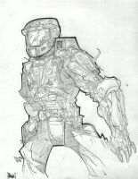 Master Chief by Gambear1er