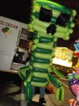 Balloon Minecraft Creeper Cosplay by NoOrdinaryBalloonMan