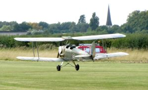DH82B Queen bee taking off by Sceptre63