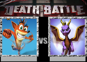 Crash Vs Spyro by VitamineJJC