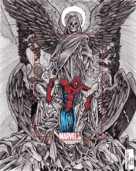 spidey and angels by danborgonos
