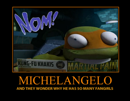 Michelangelo Motivation by TDArulesclub4