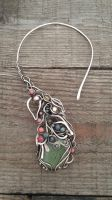 Fairy copper wire wrapped necklace by TangledWorld