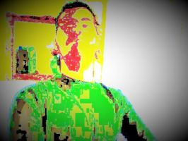 Manipulated Selfie 185: Vignette Style by TheSkull31