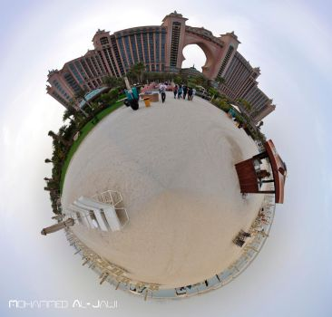 Polar panorama , Atlantis the palm , Dubai by MohammedJ1