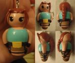 Tomb Raider Lara Croft Keyring by Sorenli