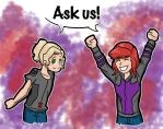 Ask us by Nickyparsonavenger