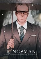 Kingsman Raining Day -- Harry by maorenc