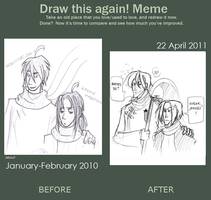 DRAW IT AGAIN MEME 2011 by Rekieel