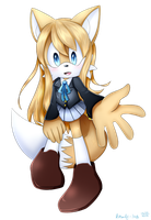 Kotobuki Tsumugi the Fox by Kitsune-Jay