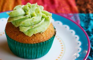 Pistachio Cupcakes by Cailleanne