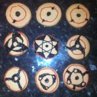 Baked Sharingan by bollatay