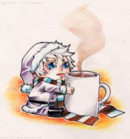 WH - cup of cocoa by Sardiini