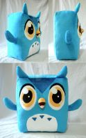 Blu the Owl by WhittyKitty