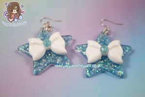 Mermaid Star Earrings by PeppermintPuff