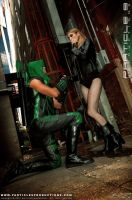 Green Arrow and Black Canary 5 by Superchica