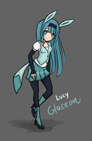Glaceon by Gurinn