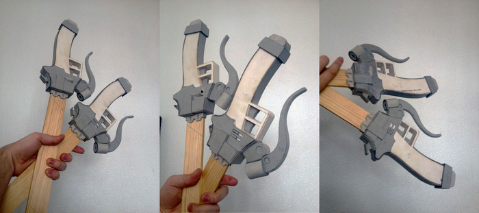 Attack on Titan: 3DMG WIP 5 by Gregggle