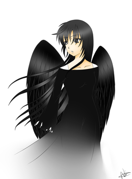 Black Angel request 8D by iYume143