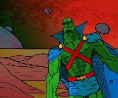 Martian Manhunter by lone-wolf-boudin