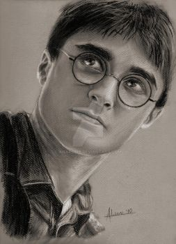 Harry Potter by anakomb