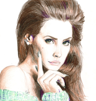 lana del rey by SoapyPillow