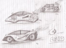 concept cars by clockworkcreeper