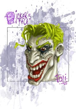 JOKER'S FACE by 7oti