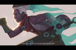 Ekko - Wall of the Gone by Varcis