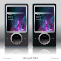 Microsoft Zune Player - Vector by lilshizzy