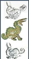 Jovial Creature trade by Worm-love