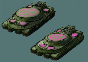 RedMarch- WP- Supertank Chassis draft by Harry-the-Fox