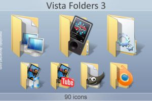 Vista Folders 3 by monolistic