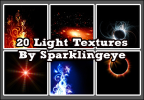 Light Textures Set 6 by sparkling-eye