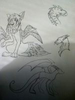 Doodles by aquaheartthecat