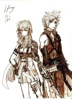 Lightning + Cloud Sketch by uchihasato