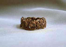 Copper ring 2 by blackcurrantjewelry