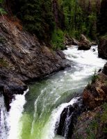 Alaskan Waterfall 2 by LandOstock