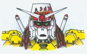 Bucket Gundam by Ripplin