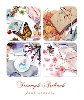 Triumph Artbook Preview - Seasons' Memories by Aka-Shiro