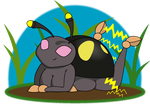 Art Trade: Anode Beetle by Sageroot